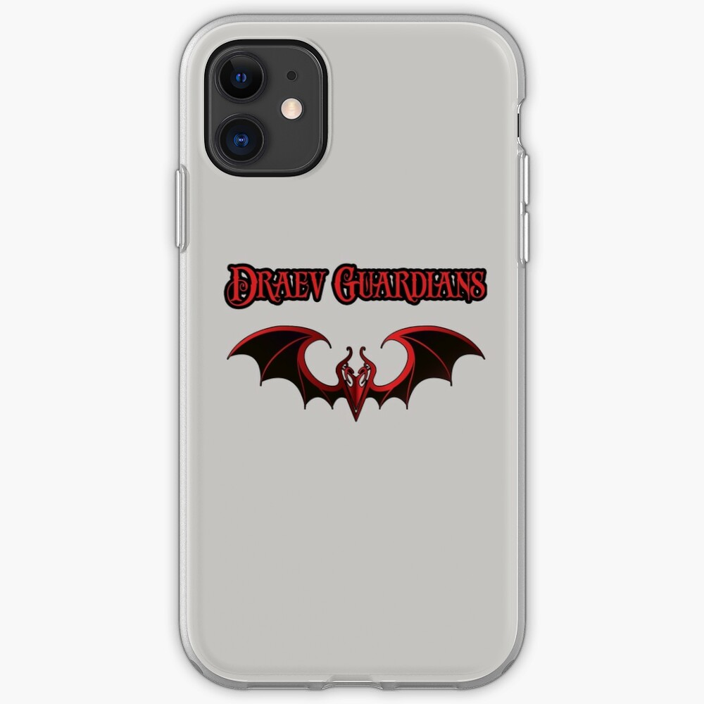 Draev Guardians wing symbol iPhone Case & Cover