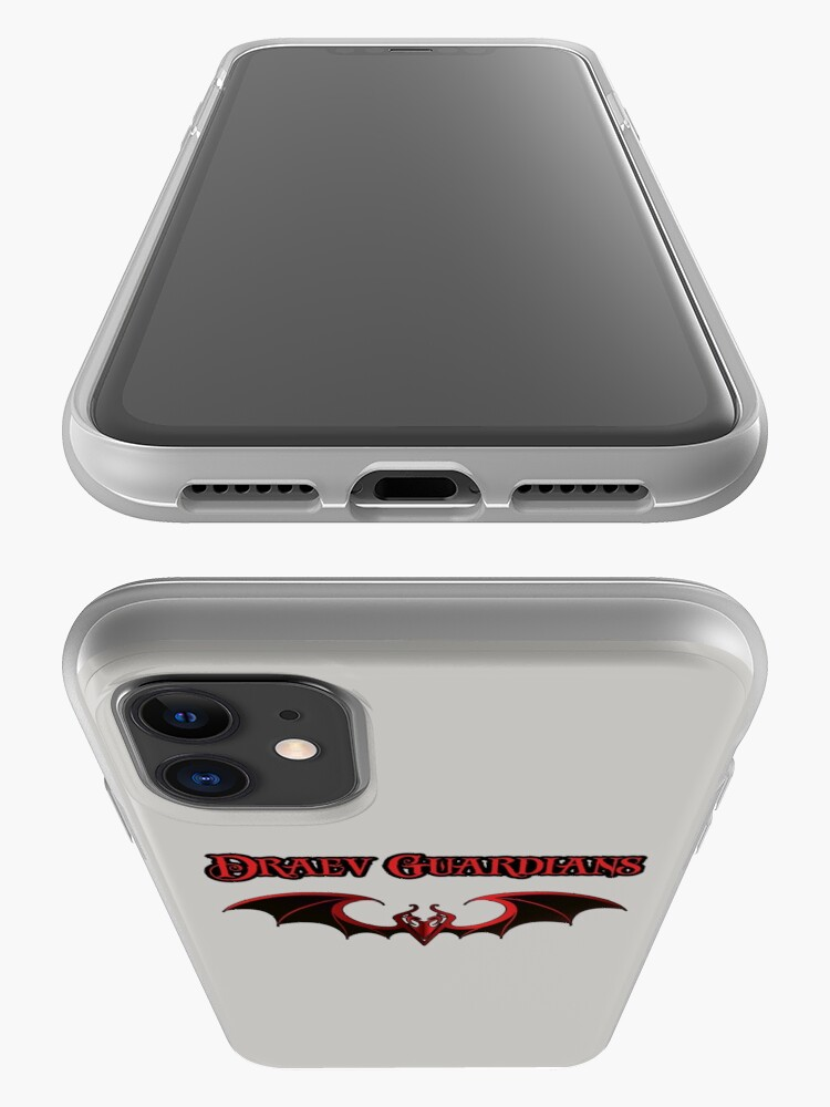 Alternate view of Draev Guardians wing symbol iPhone Case & Cover