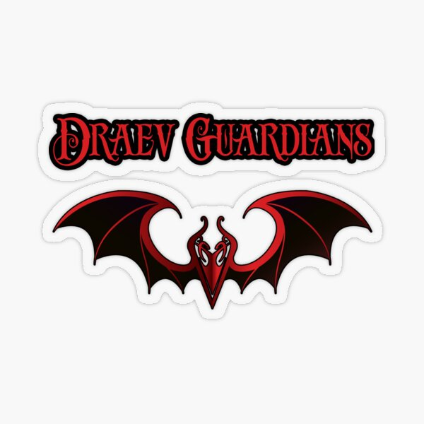 Draev Guardians wing symbol Transparent Sticker