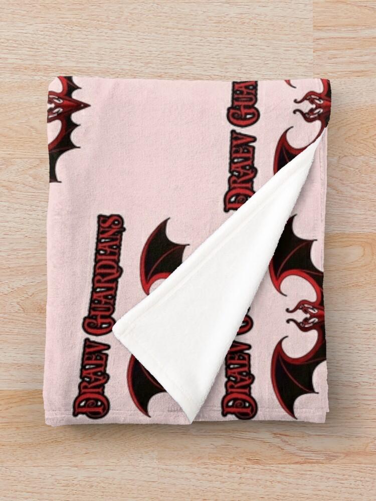 Alternate view of Draev Guardians wing symbol Throw Blanket