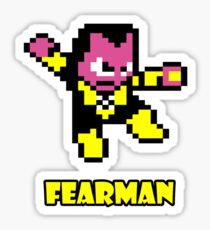 Fearman Sticker