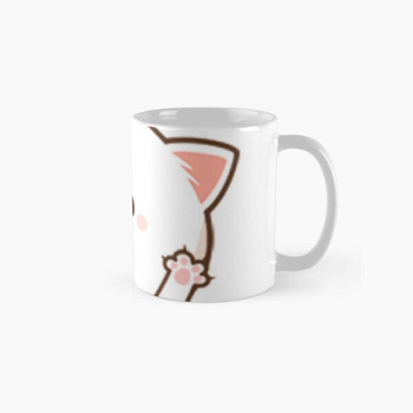 Peach cat Classic Mug