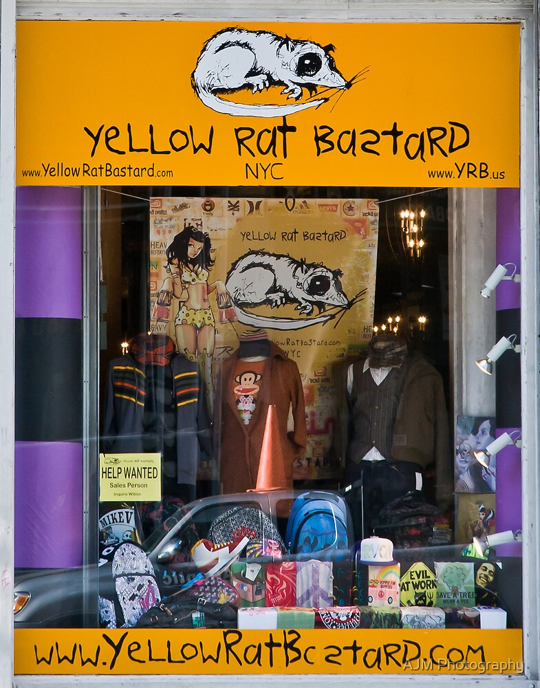 YellowRatBastard by AJM Photography