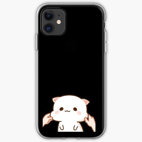 Mochi Mochi Peach Cat iPhone Soft Case