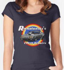 Rockatansky's Crash Repairs Women's Fitted Scoop T-Shirt