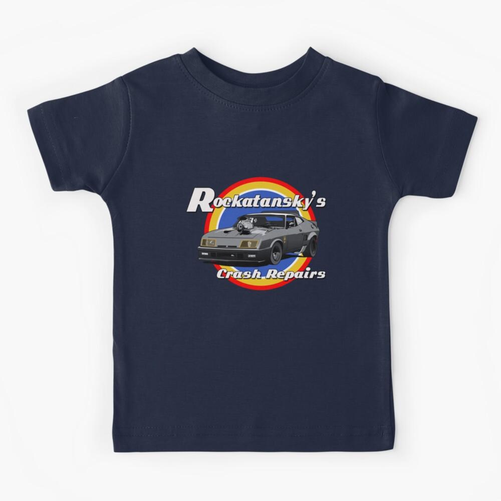 Rockatansky's Crash Repairs Kids T-Shirt