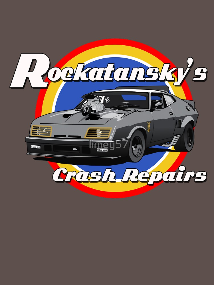 Rockatansky's Crash Repairs | Unisex T-Shirt