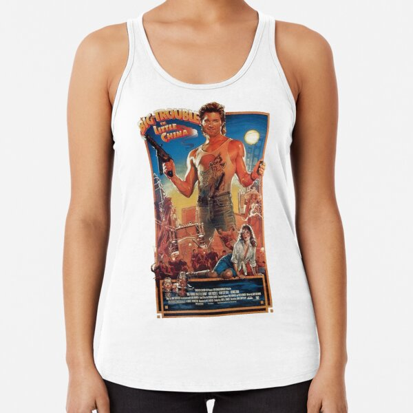 Big trouble in Little China Racerback Tank Top