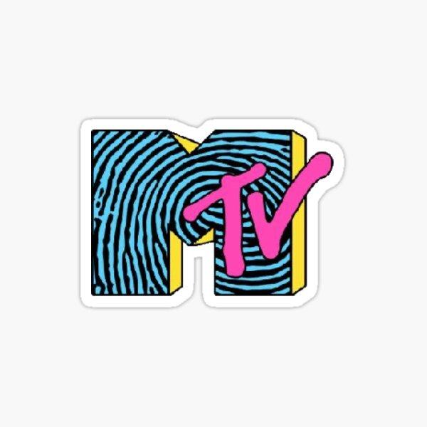 MTV sticker Sticker