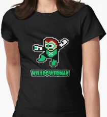 Willpowerman Womens Fitted T-Shirt