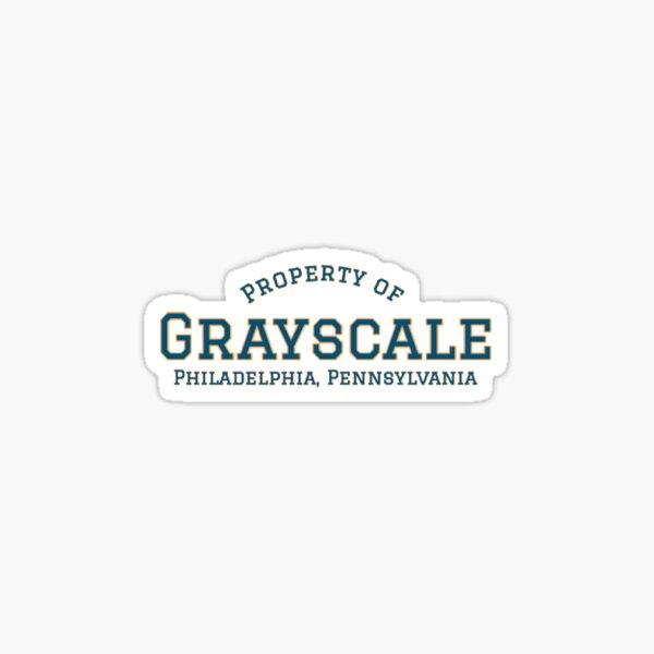 Property of Grayscale Sticker