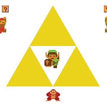 Old Nintendo Homage by simplysuicune