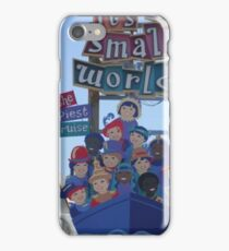Small world  iPhone Case/Skin