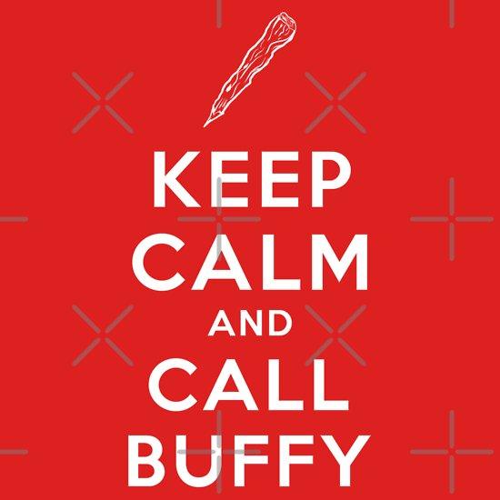 TShirtGifter presents: Keep Calm and Call Buffy T-Shirt
