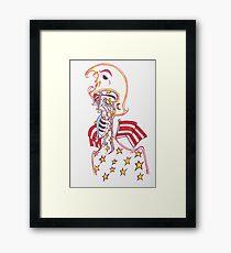 """""""captain america"""" Framed Print"""