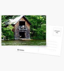 Adirondack Boathouse Postcards