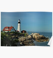 """ Portland Head Light - Portland, Maine "" Poster"