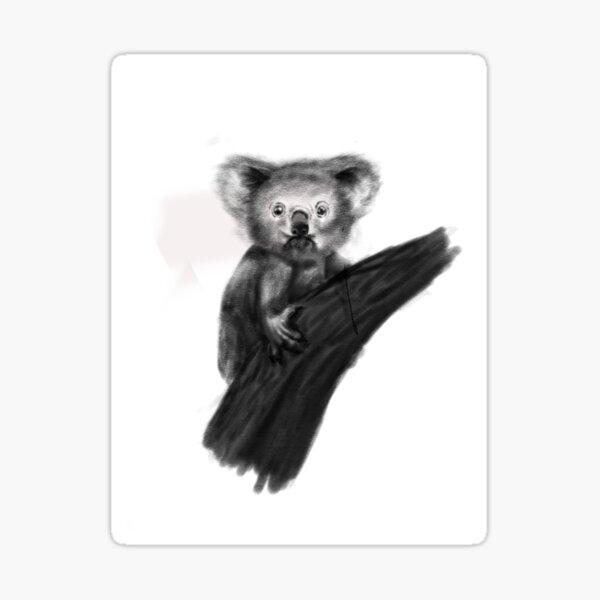Koala Bebe 1 Pegatina