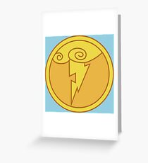 Olympus Coin Greeting Card