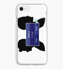 Klaine - Courage iPhone Case/Skin