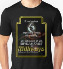 Milliways 6 things T-Shirt