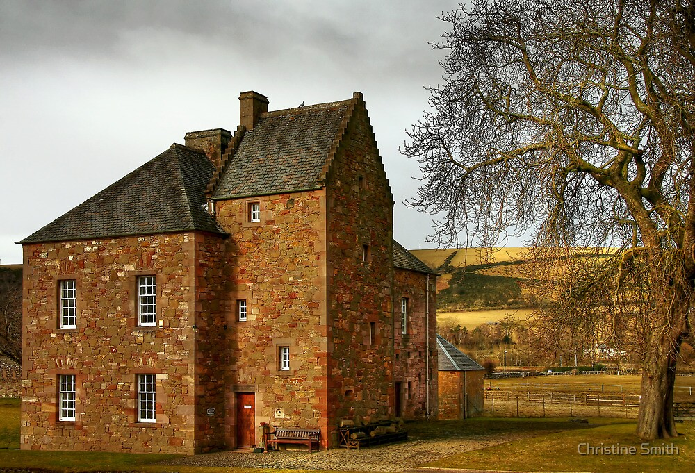 The Commendator's House at Melrose Abbey by Christine Smith