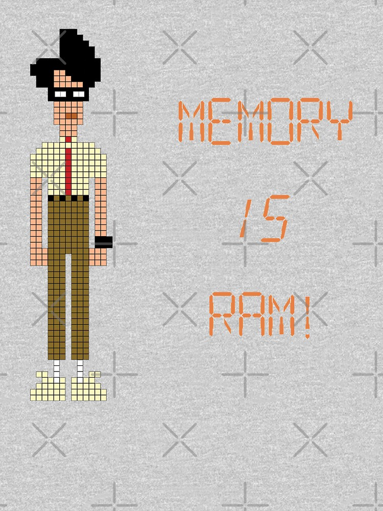 The IT Crowd – Memory IS RAM! by PonchTheOwl