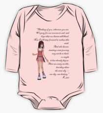 "Kairi ""Thinking Of You, Wherever You Are"" One Piece - Long Sleeve"