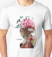 Collage italian Florence spirit renaissance Unisex T-Shirt
