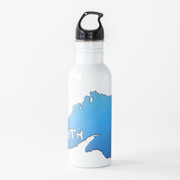 """Esquema del lago Superior con """"Duluth"""" Botella de agua"""