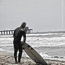 Never too old to Surf !!!! - Huntington Beach, CA by Aurora Vaz