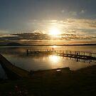 Lake Tooliorook sunset by trishringe