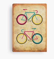 CMYK Bikes ~ Series 1 Canvas Print