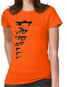 GunPlay Shadow Shot Womens Fitted T-Shirt