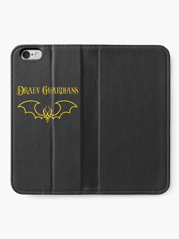 Alternate view of Draev Guardians fang wing symbol iPhone Wallet