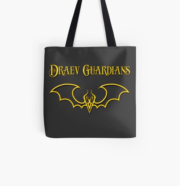Draev Guardians fang wing symbol All Over Print Tote Bag