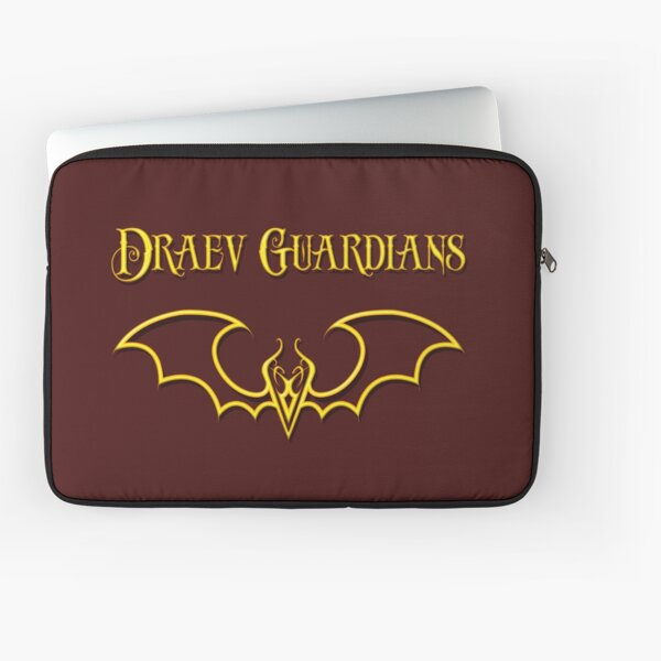 Draev Guardians fang wing symbol Laptop Sleeve