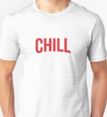 NETFLIX und CHILL Slim Fit T-Shirt