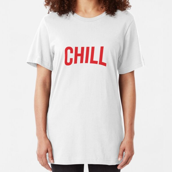 NETFLIX and CHILL Slim Fit T-Shirt