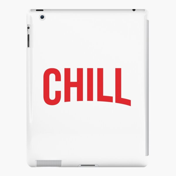 NETFLIX and CHILL iPad Snap Case