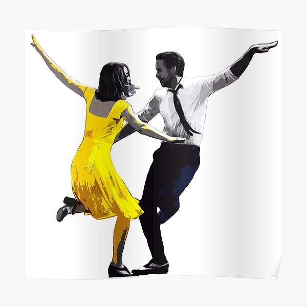La La Land - Sebastian and Mia Dancing Poster