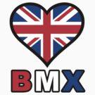 UK Heart BMX by Garrett  Holm