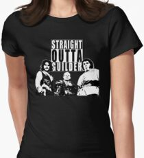 Straight Outta Guilder v2 Women's Fitted T-Shirt
