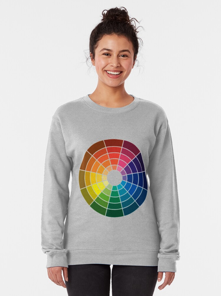 Alternate view of Colour wheel tints tones and shades Pullover Sweatshirt