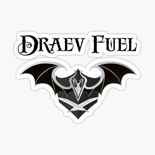 Draev Guardian art Sticker