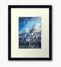 Weathering With You Poster (Tenki no Ko) (Japanese Ver) Framed Print