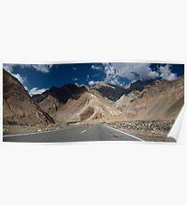 Karakoram Highway Poster