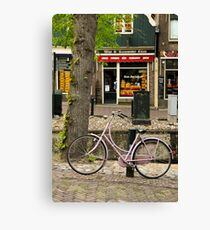 Netherlands Bike Canvas Print