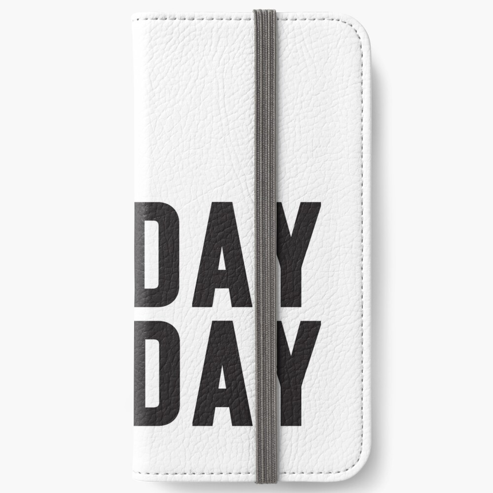 Friday Funday Black  iPhone Wallet