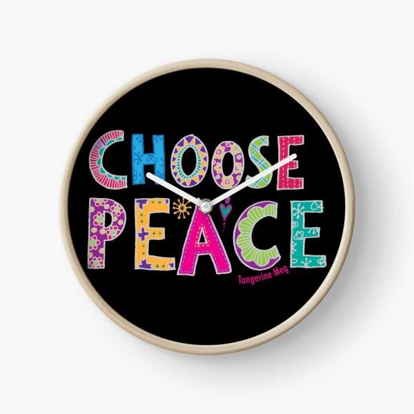 Choose Peace Clock